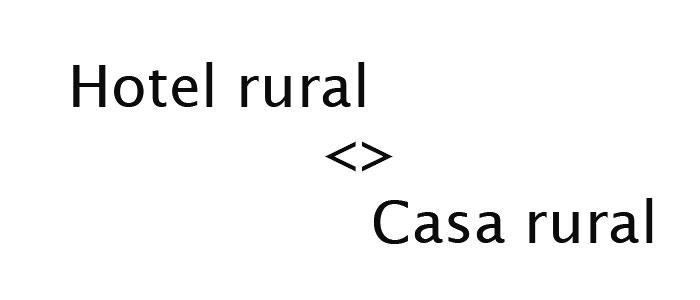 Diferencias en la gestión de un hotel rural y una casa rural